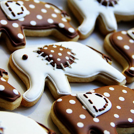 LoneStarsandStripes - elephant sugar cookies