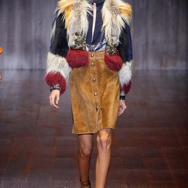 GUCCI - Spring 2015 Ready-to-Wear Gucci Model Valery Kaufman (WHY NOT)