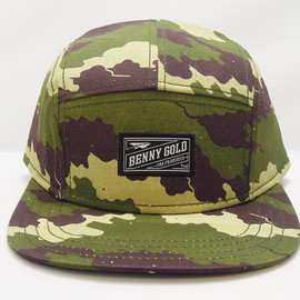 BENNY GOLD - FOG CAMO 5-PANEL HAT