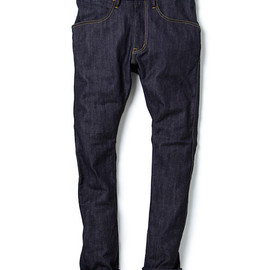 nonnative - DWELLER TIGHT FIT JEANS - C/P 12oz DENIM STRETCH NW