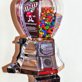 Fine Art America - Old Candy Dispenser - New Candy Photograph  - Old Candy Dispenser - New Candy Fine Art Print