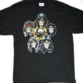 VINTAGE - Vintage Guns N Roses Band Shirt Mens Size Medium