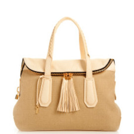 Henri Bendel - GIRL ABOUT TOWN CANVAS SATCHEL