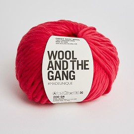 Wool and the Gang - Crazy Sexy Wool candy red