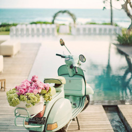 Vespa in wedding - Erika Gerdemark