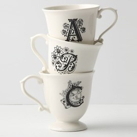 Anthropologie - initials Mag