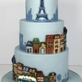 designed decoration cake