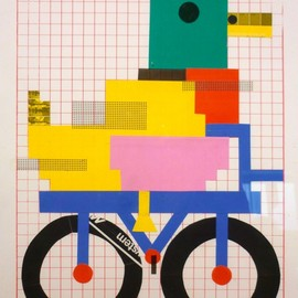 Madalena Matoso - duck on a bike
