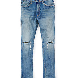 "nonnative - DWELLER TIGHT FIT JEANS COTTON 13oz DENIM STRETCH VW ""DALLAS"""