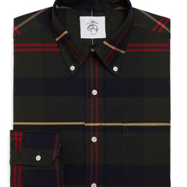 BLACK FLEECE BY Brooks Brothers - Tartan Oxford Button-Down Shirt