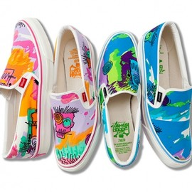 stussy - Stussy ZOZO CHAPT 5th Anniversary Exclusive Slip-On