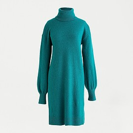 J.CREW - turtleneck sweater dress in supersoft yarn