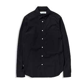 UNIVERSAL PRODUCTS - BROAD REGULAR COLLAR SHIRTS/BLACK