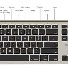 kanex - MultiSync Aluminum Mac Keyboard