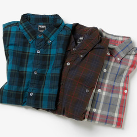 Todd Snyder - PLAID SHIRT (2013AW)