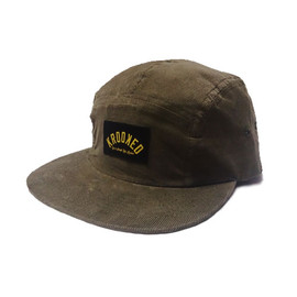 KROOKED - BOXING KLUB 5 PANEL CAMPER (Army Green Cord)