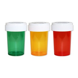 LIXTICK - ピルケース - Medicine Pill CASE 【Medium】 3PACK