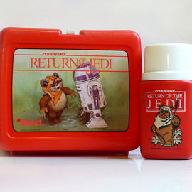 STAR WARS - Return Of  The Jedi Lunch Box