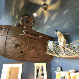 Kuhl Design Build - The Pirate Ship Bedroom