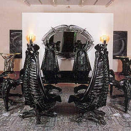 The H.R. Giger Environment - 家具