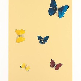 Damien Hirst - All You Need is Love    Silkscreen print   57 7/8 x 46 inches (147 x 117 cm)