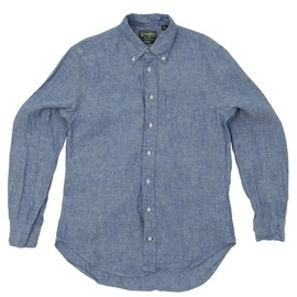 Gitman Vintage - Blue Linen Chambray Shirt