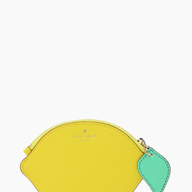kate spade NEW YORK - VIA LIMONI LEMON COIN PURSE