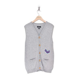 "Commune de Paris - ""St Cloud Cardigan"" (Marl Grey)"