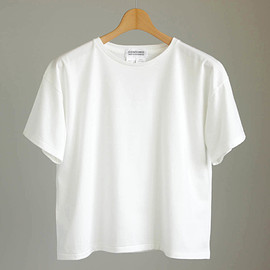 YAECA - Box Tee - CONTEMPO YAECA for Play mountain #white
