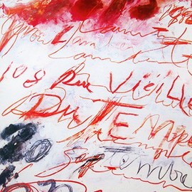 Cy Twombly - Cy Twombly - print (1986)