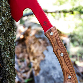 BUCK KNIVES - 'Red Steel' Compadre Hatchet
