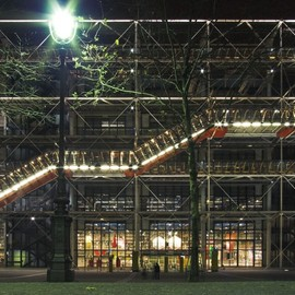 Rogers Stirk Harbour + Partners, Renzo Piano - CENTRE GEORGES POMPIDOU