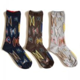 mina perhonen - sky flower socks