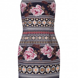 Matthew Williamson - Floral Folk Mini Dress
