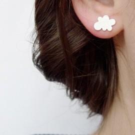 Joanna Rutter - Image of teeny nimbus earrings