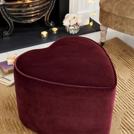 next - Berry Heart Stool