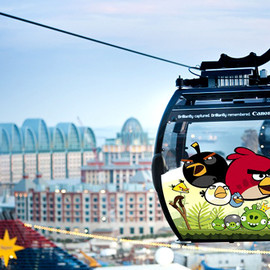 Singapore - Angry Birds Adventure at Mount Faber