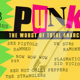 PUNK - Punk - The Worst Of Total Anarchy - Various 3CD BOX