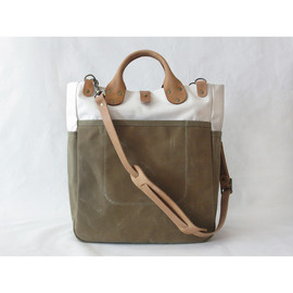 Winter Session - Garrison Bag (Natural/Sage)