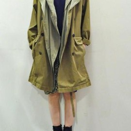 STEPHAN SCHNEIDER - Layered Trench Coat