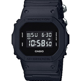 CASIO - G-SHOCK - Military Black DW-5600BBN-1JF