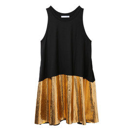PETITE ROBE NOIRE - BLACK AND GOLD DRESS