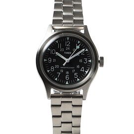 TIMEX × BEAMS - CAMPER STAINLESS STEEL 3針ウォッチ