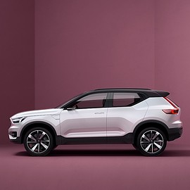 volvo - volvo designers experiment with their modular architecture program via 40 series concepts