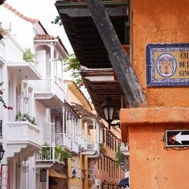 Colombia - Colonial Balcony