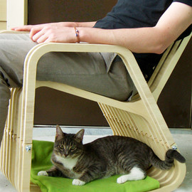 PAUL KWETON - Cat Bed Rocking Chair