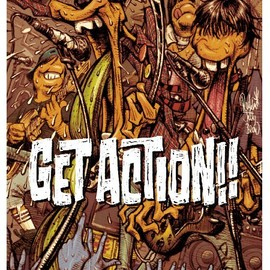 "TEENGENERATE - ""GET ACTION!!"" B2 POSTER by Rockin'Jelly Bean"