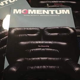 日経BP - 『MOMENTUM』Issue12