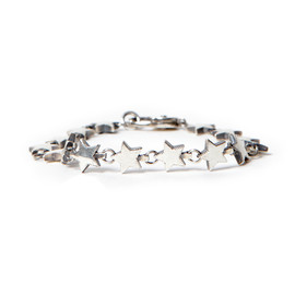 "nonnative, END - DWELLER BRACELET ""STAR"" 925 SILVER by END"