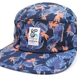 CITYFELLAZ - LEAVES 5 PANEL CAP